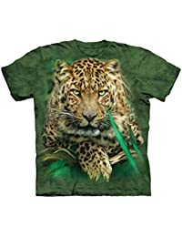 The Mountain Camesita Majestic Leopard Big Cat Niño Unisexo