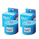 2 Stück ELYTH Tape Kinesiologie 5m x 5cm, blau