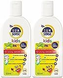 SunSense SPF 50 Plus Kids Sunscreen, 125 ml - Pack of 2 bottles