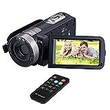 HuiHeng volle HD Digital kamera tragbare Mini Handheld Camcorder Digital Videokamera Camcorder mit IR Nachtsicht 24,0 Megapixel DV 3 LCD-Bildschirm 16X Zoom