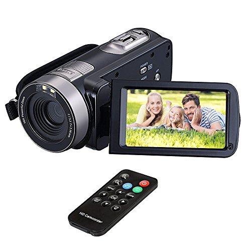 "HuiHeng volle HD Digital kamera tragbare Mini Handheld Camcorder Digital Videokamera Camcorder mit IR Nachtsicht 24,0 Megapixel DV 3 ""LCD-Bildschirm 16X Zoom"