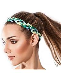Fascia per capelli Sternitz - Stranded - Antiscivolo - Ideale per Yoga 7f61a6fbcd13