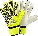 adidas Torwarthandschuhe ACE Fingersave Handschuhe, Solar Yellow/Black/Onix, 10