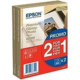 Epson C13S042167 Premium Glossy - Papier Photo - Brillant (Pack de 2)