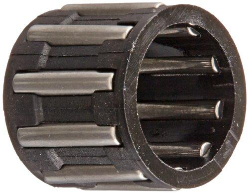 INA K8X 11X 10TN Nadellager, der Käfig und, einreihig, Polyamid Nylon Käfig, offenes Ende, metrisch, 8mm ID, 11mm OD, 10mm breite, 32.000RPM Maximale Drehzahl -