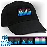 Soundsensitive LED Equalizer Cap Leuchtendes Basecap
