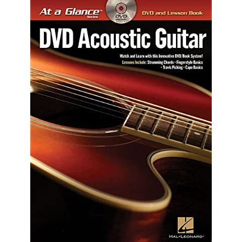 Acoustic Guitar BK/DVD At a Glance Series DVD and Lesson Book by Chad Johnson (2008-02-01)
