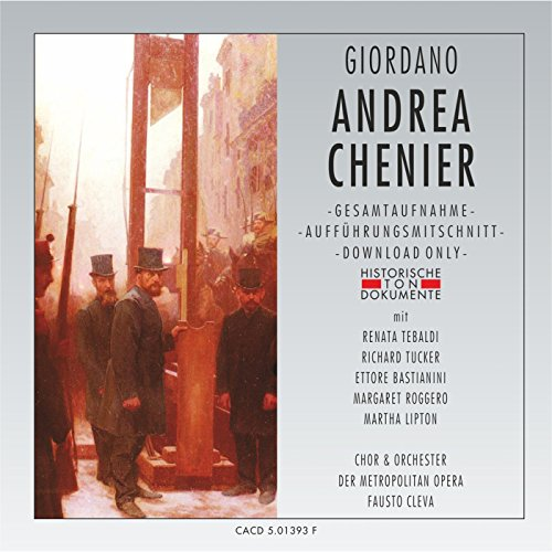 Andrea Chenier: Erster Akt - Questo azzuro sofa -