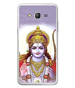 FUSON Designer Back Case Cover for Samsung Galaxy Grand Neo I9060 :: Samsung Galaxy Grand Lite (Dhanalakshmi Vaibhavlakshmi Shubhdeepavali Happy Diwali Laxmi Laksmi Kamala)