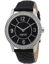 Esprit Damen-Armbanduhr heron Analog Leder A.ES104352001