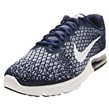 Nike Men's Air Max Sequent 2, Binary Blue/White-Blue Moon, 13 M US