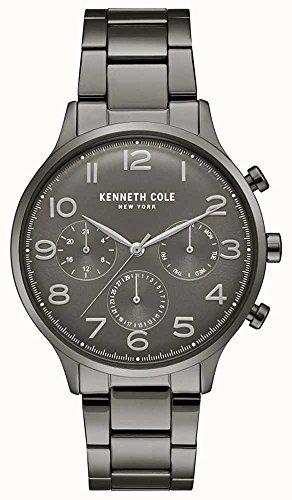Kenneth Cole New York da uomo orologio da polso analogico al quarzo acciaio inossidabile kc15185002