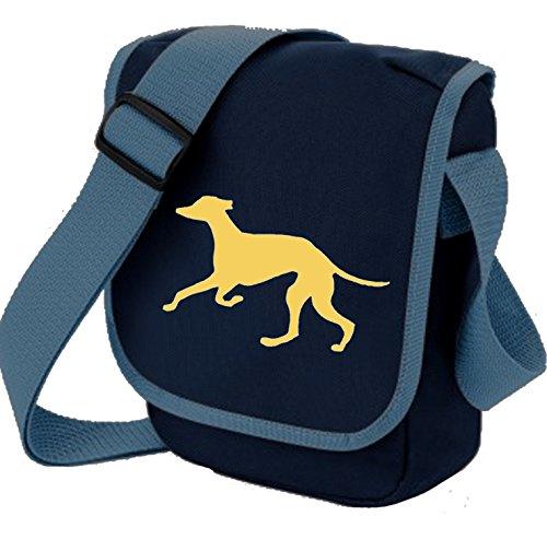 Bag Pixie - Borsa a tracolla unisex adulti Fawn Hound Blue Bag