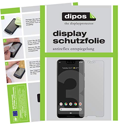 dipos I 6X Schutzfolie matt passend für HTC Exodus 1 Folie Displayschutzfolie (bewusst Kleiner als das Glas, da Dieses gewölbt ist)