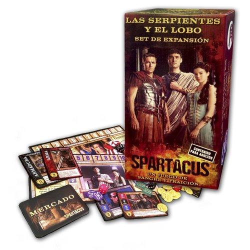 Devir - Spartacus Las Serpientes y el Lobo