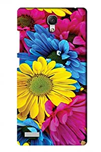 SRS Nature Flower 3D Back Cover for Xiaomi Redmi Note Prime