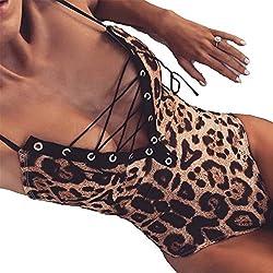 BODY Sexi de Leopardo para Mujer Slim Fit