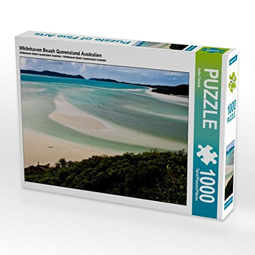 Whitehaven Beach Queensland Australien 1000 Teile Puzzle quer
