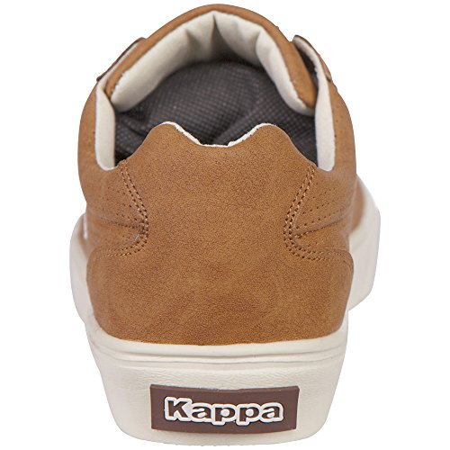Kappa Unisex-Erwachsene Porto Low-Top Beige (4150 beige/brown)