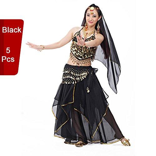 BellyQueen Tanz Kostüm Bauchtanz Kleid - Orientalischer Tanz -