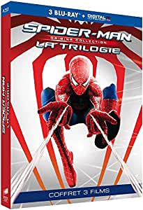 Trilogie Spider-Man - Collection Origines : Spider-Man 1 + Spider-Man 2 + Spider-Man 3 [Blu-ray + Copie digitale]