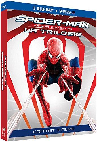 Trilogie Spider-Man - Origins Collection : Spider-Man 1 + Spider-Man 2 + Spider-Man 3 [Blu-ray + Copie digitale]