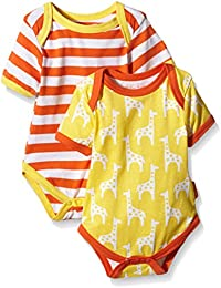 Toby Tiger Baby Giraffe T-Shirt Bodysuit, Pack Of 2