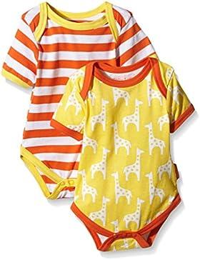 Toby Tiger Giraffe Baby T-Shirt Pack, Body Unisex-Bimbi