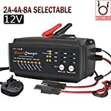 Best Auto Battery Chargers - 12V Car Battery Charger,LST 2/4/8A 7 stages Car Review