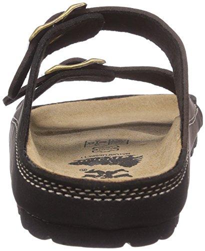 Conway 670235 Unisex-Erwachsene Pantoletten Braun (Dunkelbraun)
