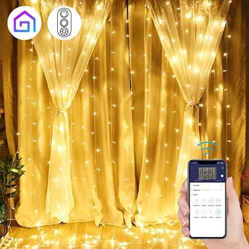 Cortina de Luces LED Navidad con APP