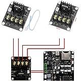 Hrph Módulo de energía calentado de la cama de la impresora 3D Alta RAMS de la RAMIFICACIÓN 1.4 del MOSFET de la corriente 210A