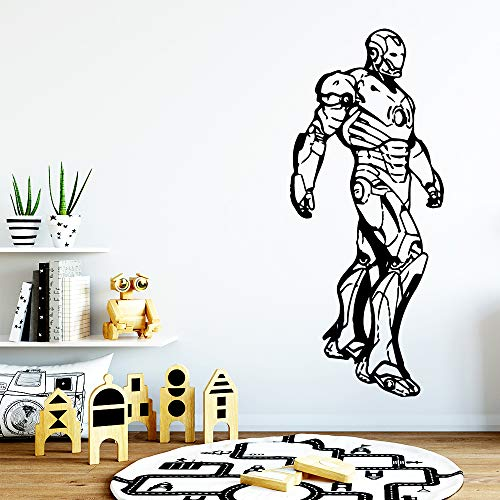 zhuziji Modern Super Hero Sticker Waterproof Vinyl Wallpaper Home Decor PVC Wall Decals Background Wall AR 43cm X 103cm (Bunny Build A Bear)