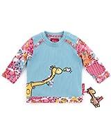 Sigikid Baby - Safari Serie Mädchen Langarmshirt 153108 - Milky Blue 574