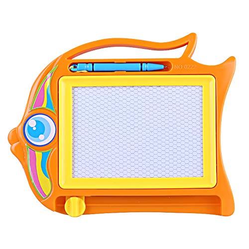 (Magnetische Zeichenbrett Magna Doodle Bunte löschbare Doodle Brett hilft Ihre Kinder schreiben & Skizze Spielzeug für Jungen und Mädchen Reisen Größe Doodle Pad 1PC)