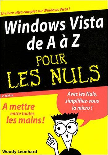 WINDOWS VISTA A A Z 2E MEGAPOC