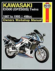 Kawasaki Ex500 (Gpz500s Owners Workshop Manual) by Alan Ahlstrand (1993-05-02)