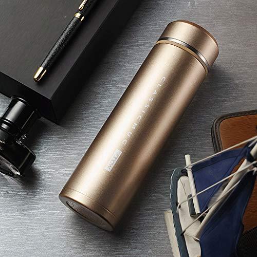 Gourdes Haute qualité Hommes et Femmes Tasse d'isolation en Acier Inoxydable 316 Tasse Portable Business, personnalisé, Lettrage