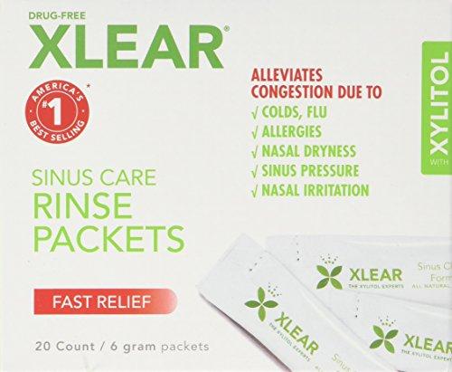 Xlear Sinus Care System NetiXlear Neti Wash - Neilmed Sinus Rinse Kit