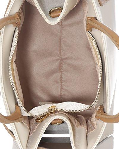 Laura Moretti - Borsa in pelle con cintura Leather