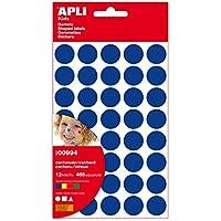 APLI - Bolsa de gomets figuras geométricas grandes 12 hojas