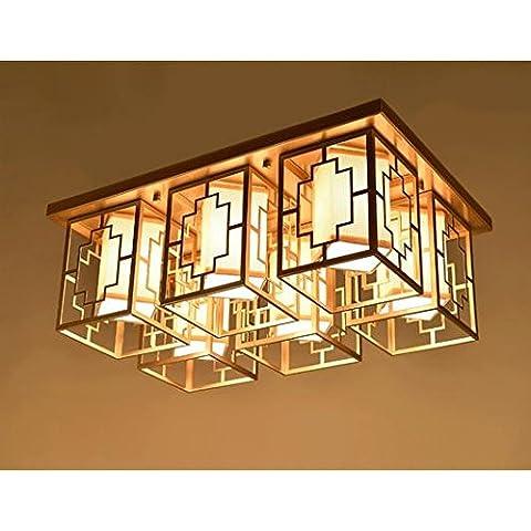 LINA-Piazza ristorante cinese nuovo lampadario in ferro , b