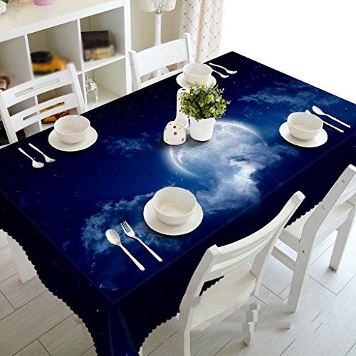 Preisvergleich Produktbild Mond dunkle Wolken, staubdichte 3D Tischdecken, Umweltgeschmack, Digitaldruck, personalisierte Teemaschine Tuch , #1 , 50*130cm