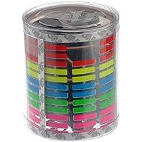 PIXNOR Auto Adesivi Equalizzatore Multicolore Luce Ritmo Lampada LED Attivato dal Suono Musica
