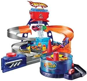 Mattel - Hot Wheels P8616-0 - Colour Shifters Coole Design Werkstatt