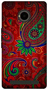 The Racoon Lean Taste of India hard plastic printed back case for Yu Yuphoria