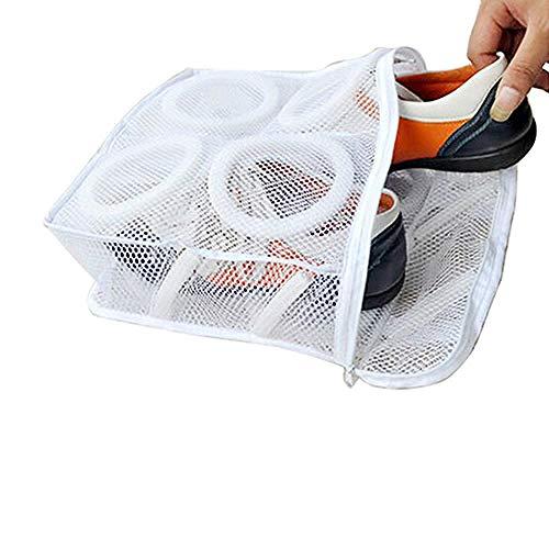 CHENHUI Wäschekorb 10 teiliges Set Tennisstiefel Sportschuhe Mesh Wäschewaschbeutel Haushaltsgegenstände