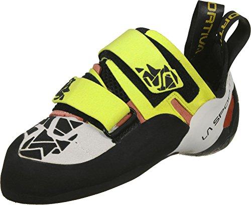 La Sportiva Otaki W Scarpa arrampicata giallo nero bianco