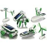 Nuevo 6 en 1 Juguetes educativos Solar Kit Robot Camaleón.
