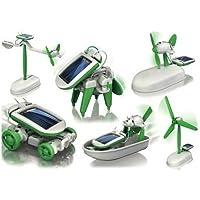Gran Ganga Nuevo 6 en 1 para la Educación Solar Kit juguetes Robot Chameleon